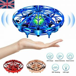 Mini Drone Smart Ufo Aircraft For Kids Flying Toys 360° Rc Hand Control Xmas (11)