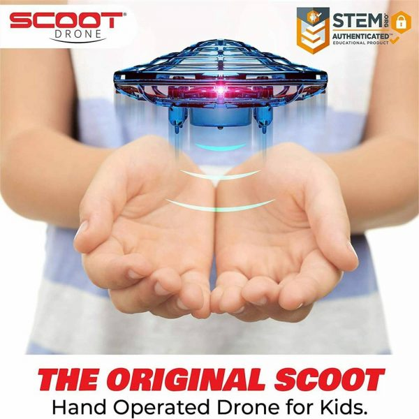 Mini Drone Smart Ufo Aircraft For Kids Flying Toys 360° Rc Hand Control Xmas (4)