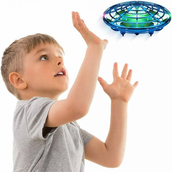 Mini Drone Smart Ufo Aircraft For Kids Flying Toys 360° Rc Hand Control Xmas (9)