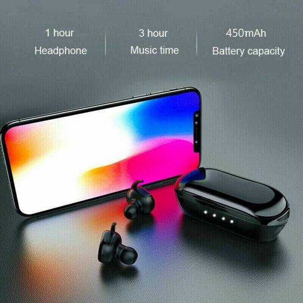 Mini Earbuds Headset Waterproof Tws Bluetooth 5.0 Earphones (13)