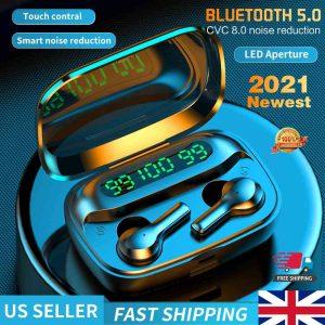 Mini Earbuds Headset Waterproof Tws Bluetooth 5.0 Earphones (4)