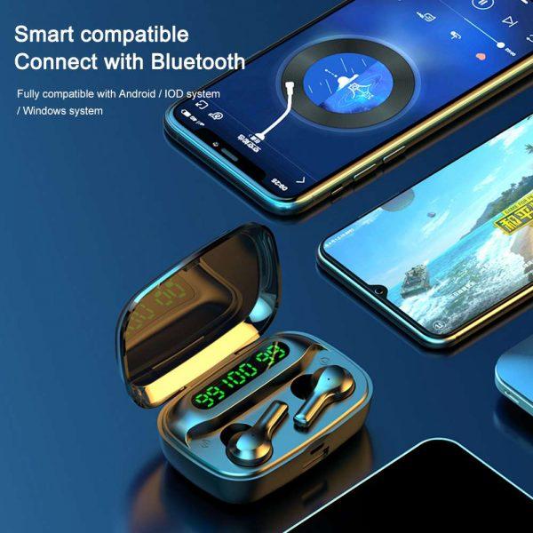 Mini Earbuds Headset Waterproof Tws Bluetooth 5.0 Earphones (6)