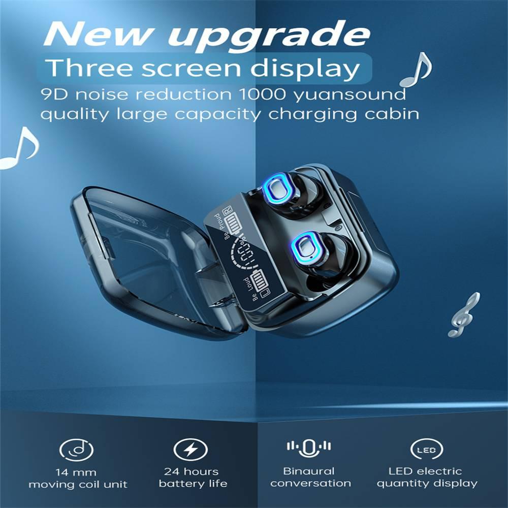 New Wireless Bluetooth 5.1 Headphones Earphones Earbuds In Ear For All Phone (2)