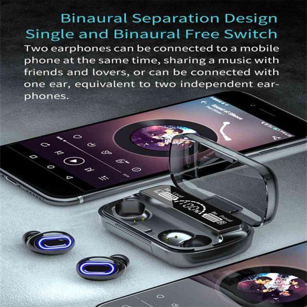 New Wireless Bluetooth 5.1 Headphones Earphones Earbuds In Ear For All Phone (7)