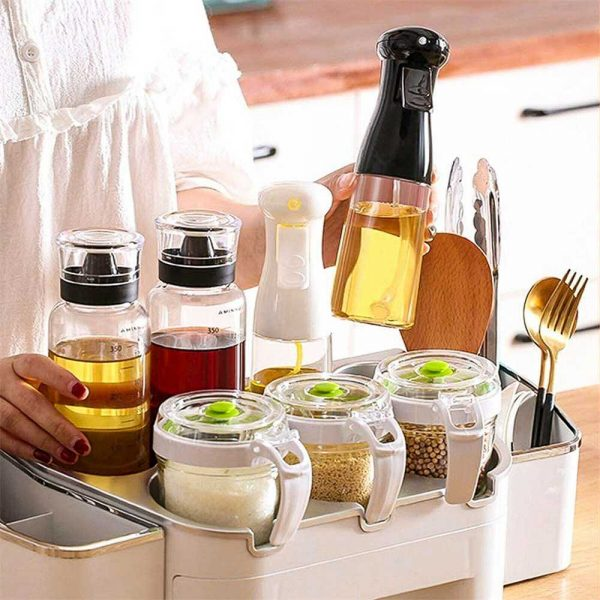 Olive Oil Sprayer Cooking Mister Dispenser Spray Bottle Kitchen 210ml Cooking (11)
