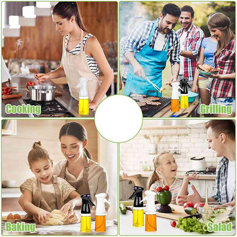 Olive Oil Sprayer Cooking Mister Dispenser Spray Bottle Kitchen 210ml Cooking (4)
