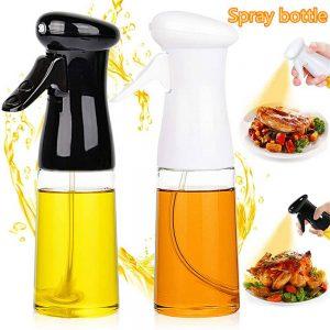Olive Oil Sprayer Cooking Mister Dispenser Spray Bottle Kitchen 210ml Cooking (7)