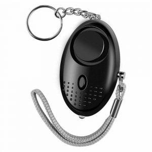 Personal Alarm Safe Sound Keychain With Led Light 140db Emergency Women Defense (13)