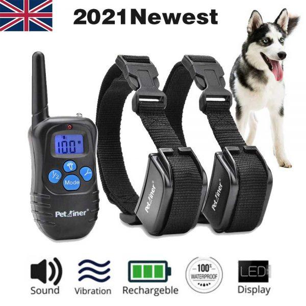 Pet Dog Training Collar Lcd Electric Shock Anti Bark Single Dog And Double Dog (13)