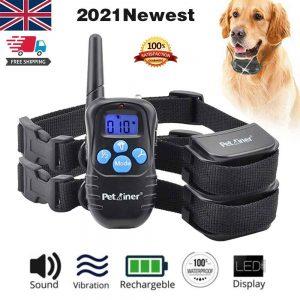 Pet Dog Training Collar Lcd Electric Shock Anti Bark Single Dog And Double Dog (14)