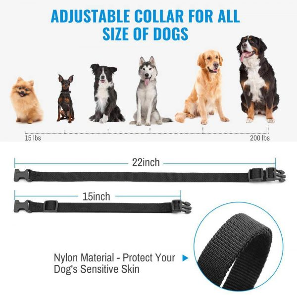 Pet Dog Training Collar Lcd Electric Shock Anti Bark Single Dog And Double Dog (2)