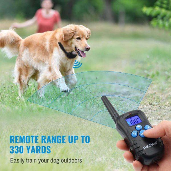 Pet Dog Training Collar Lcd Electric Shock Anti Bark Single Dog And Double Dog (6)