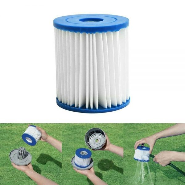 Replacement Type D Summer Waves For Intex Swimming Pool Pump Filter Cartridge (2)