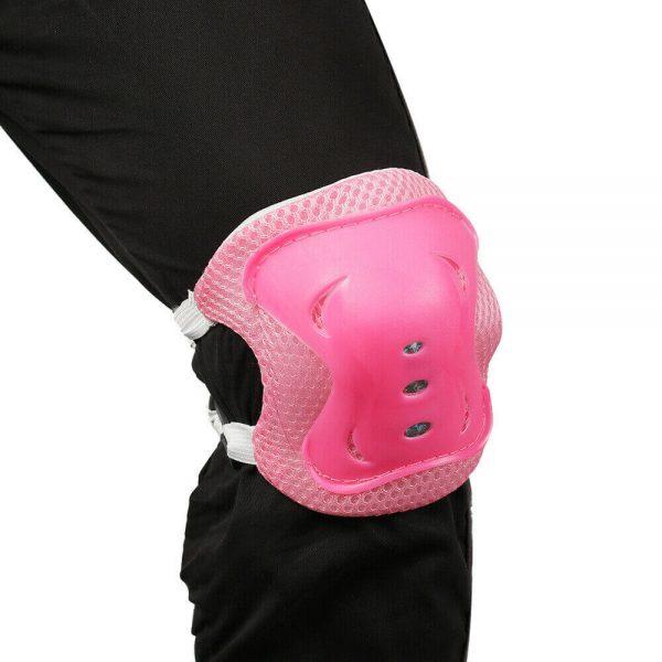 Skating Roller Skating Helmets Safety Bike Helmet Knee Elbow Protective Gear Set (11)