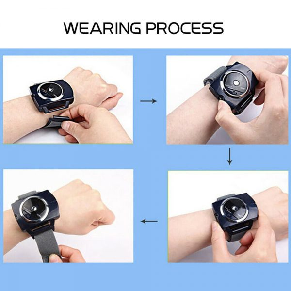 Snore Stopper Sleep Connection Anti Snore Wristband Bracelet Device Stop Snoring (10)