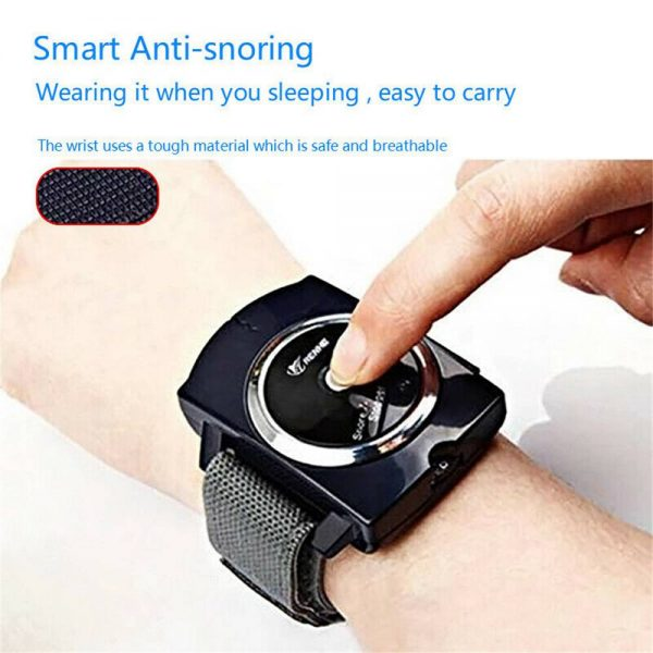 Snore Stopper Sleep Connection Anti Snore Wristband Bracelet Device Stop Snoring (15)