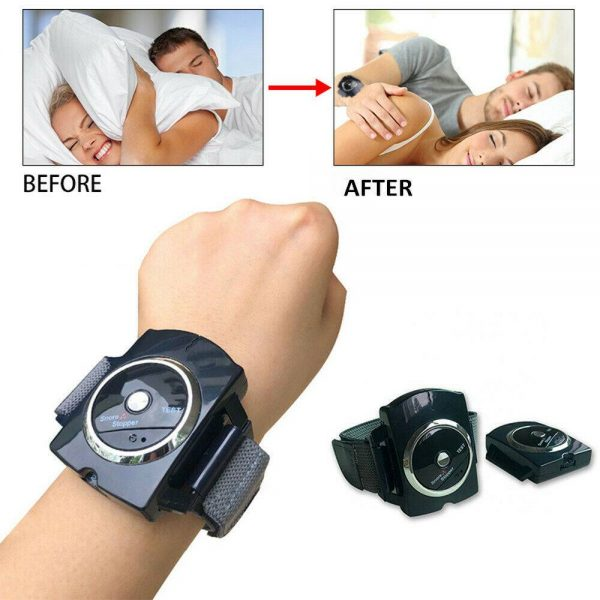 Snore Stopper Sleep Connection Anti Snore Wristband Bracelet Device Stop Snoring (6)