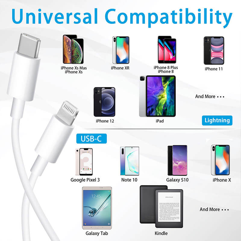 Usb C 18w Pd Fast Charging Type C Usb Data Cable Charger Wire Phone Data Cables (5)