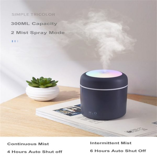 Usb Mini Ultrasonic Air Humidifier Portable Humidifier Air Freshener Perfume Automatic Humidifier (10)