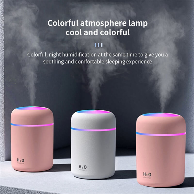Usb Mini Ultrasonic Air Humidifier Portable Humidifier Air Freshener Perfume Automatic Humidifier (8)