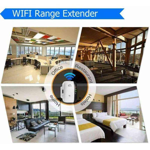 Wifi Range Repeater Amplifier Wireless Signal Extender Network Booster Uk Plug (12)