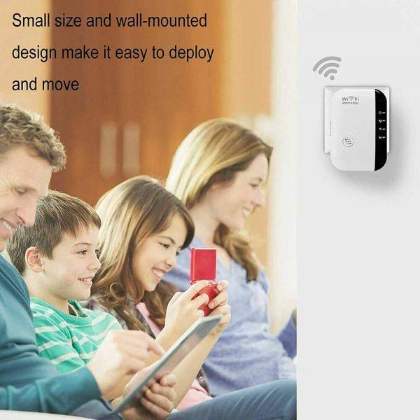 Wifi Range Repeater Amplifier Wireless Signal Extender Network Booster Uk Plug (13)