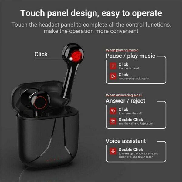 Wireless Bluetooth Earphones Earbuds Sports Ear Hook Run Headset (13)