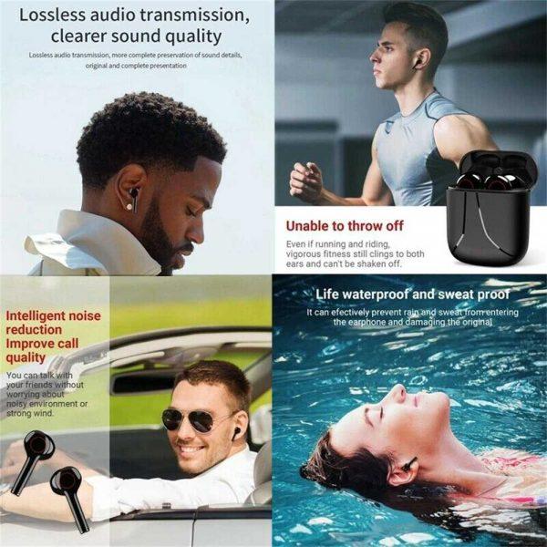 Wireless Bluetooth Earphones Earbuds Sports Ear Hook Run Headset (17)
