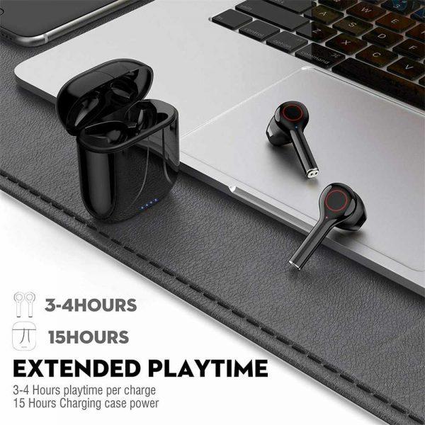 Wireless Bluetooth Earphones Earbuds Sports Ear Hook Run Headset (20)