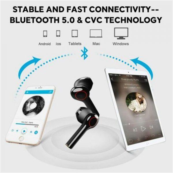Wireless Bluetooth Earphones Earbuds Sports Ear Hook Run Headset (7)