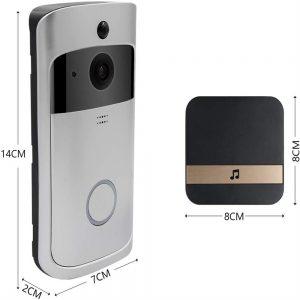 Wireless Wifi Video Doorbell Smart Phone Door Ring Intercom Camera Security Bell (1)