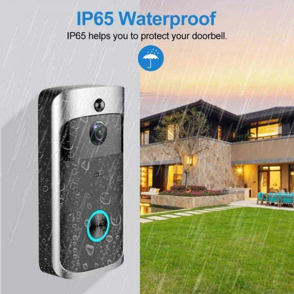 Wireless Wifi Video Doorbell Smart Phone Door Ring Intercom Camera Security Bell (18)