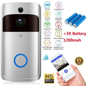 Wireless Wifi Video Doorbell Smart Phone Door Ring Intercom Camera Security Bell (19)