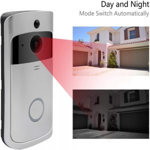 Wireless Wifi Video Doorbell Smart Phone Door Ring Intercom Camera Security Bell (2)