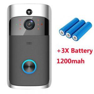 Wireless Wifi Video Doorbell Smart Phone Door Ring Intercom Camera Security Bell (20)