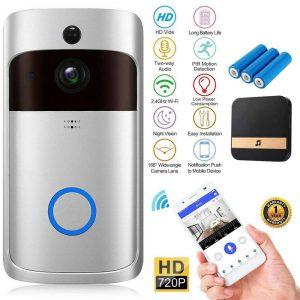 Wireless Wifi Video Doorbell Smart Phone Door Ring Intercom Camera Security Bell (21)