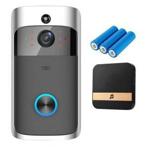 Wireless Wifi Video Doorbell Smart Phone Door Ring Intercom Camera Security Bell (22)