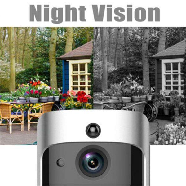 Wireless Wifi Video Doorbell Smart Phone Door Ring Intercom Camera Security Bell (7)