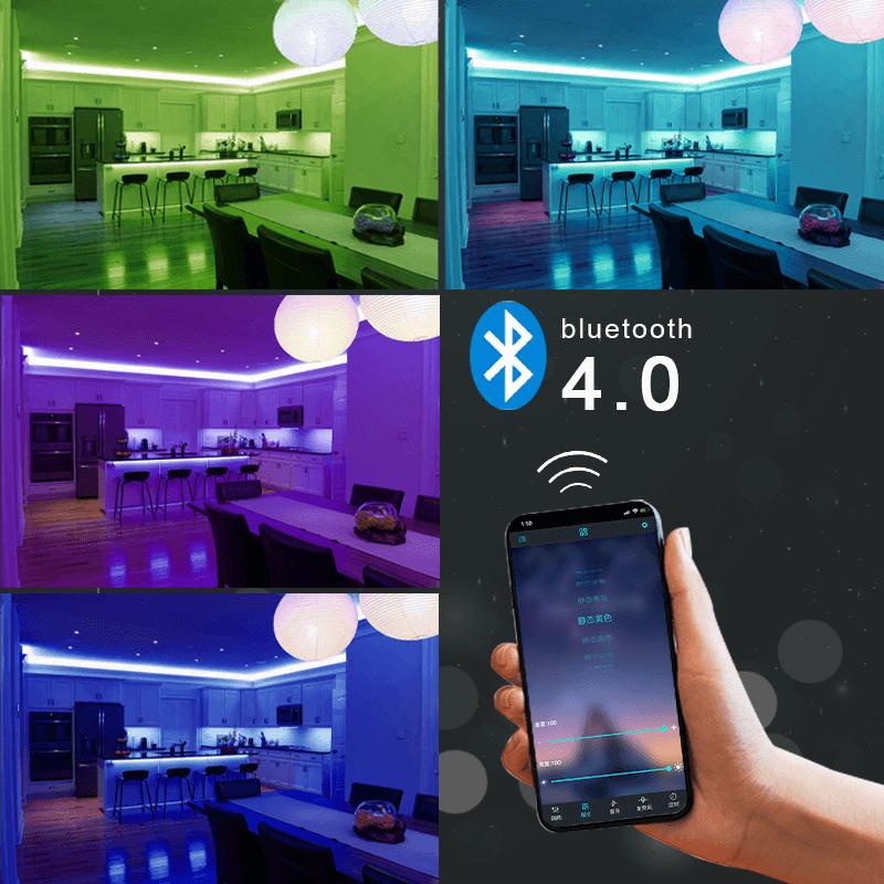 1 5m Led Strip Lights Wifi Controller Full Set Rgb Led Strip Light For Background Light Strip (3)