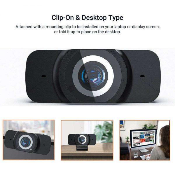 1080p Hd Webcam Auto Focus Camera For Pc Laptop Desktop Tablet Windowsmaclinux (12)