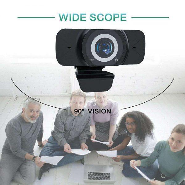 1080p Hd Webcam Auto Focus Camera For Pc Laptop Desktop Tablet Windowsmaclinux (13)