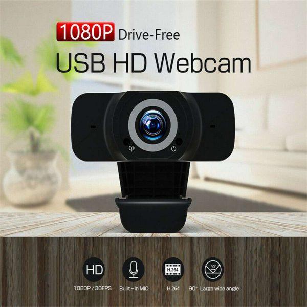 1080p Hd Webcam Auto Focus Camera For Pc Laptop Desktop Tablet Windowsmaclinux (14)