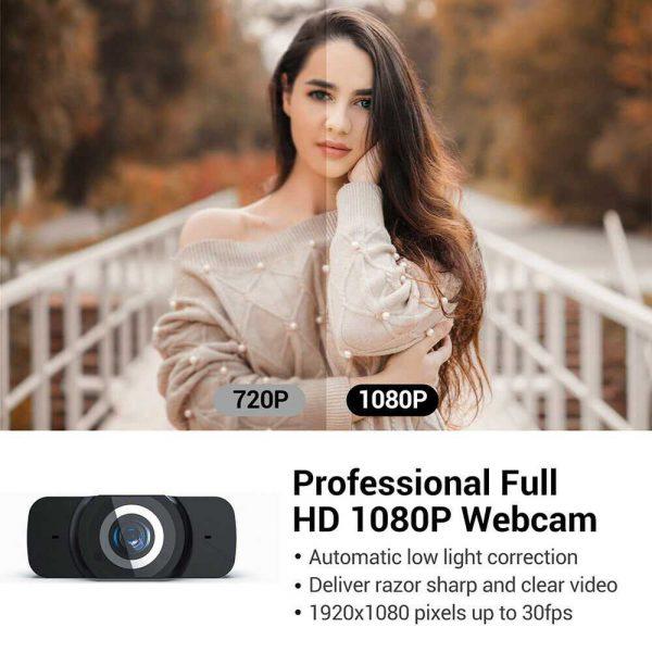 1080p Hd Webcam Auto Focus Camera For Pc Laptop Desktop Tablet Windowsmaclinux (7)