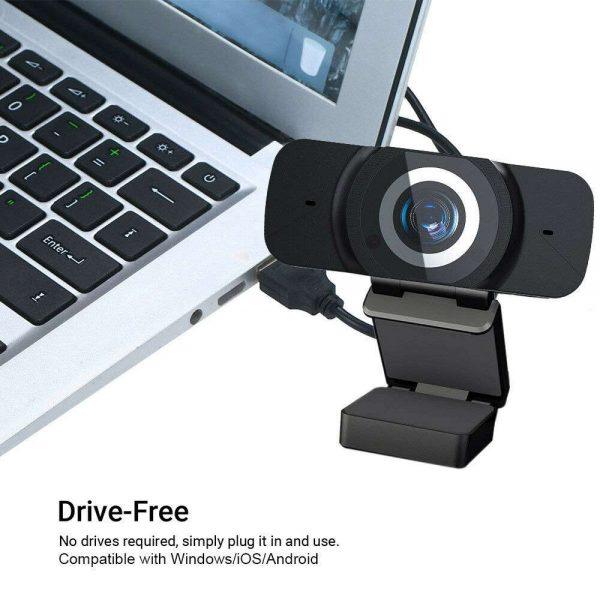 1080p Hd Webcam Auto Focus Camera For Pc Laptop Desktop Tablet Windowsmaclinux (8)