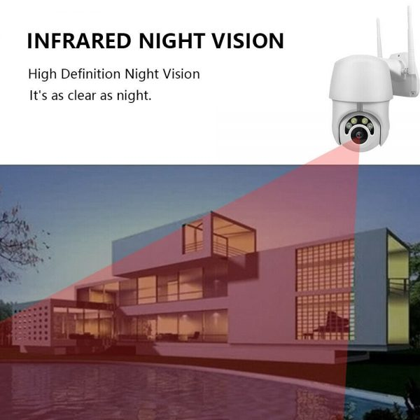 1080p Ip Cctv Camera Wireless Wifi Hd Ptz Inoutdoor Smart Home Security Ir Cam (10)