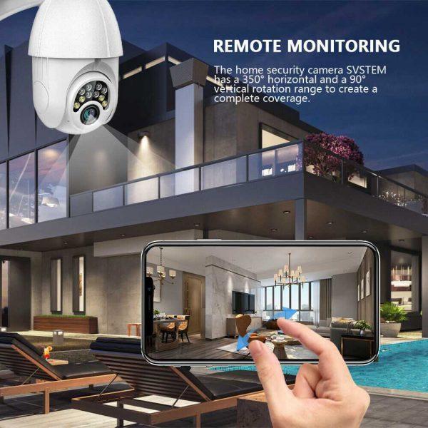1080p Ip Cctv Camera Wireless Wifi Hd Ptz Inoutdoor Smart Home Security Ir Cam (12)