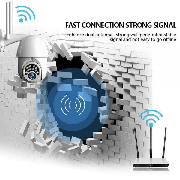1080p Ip Cctv Camera Wireless Wifi Hd Ptz Inoutdoor Smart Home Security Ir Cam (4)