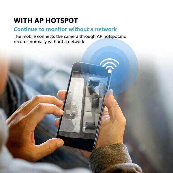 1080p Ip Cctv Camera Wireless Wifi Hd Ptz Inoutdoor Smart Home Security Ir Cam (6)