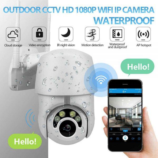 1080p Ip Cctv Camera Wireless Wifi Hd Ptz Inoutdoor Smart Home Security Ir Cam (8)