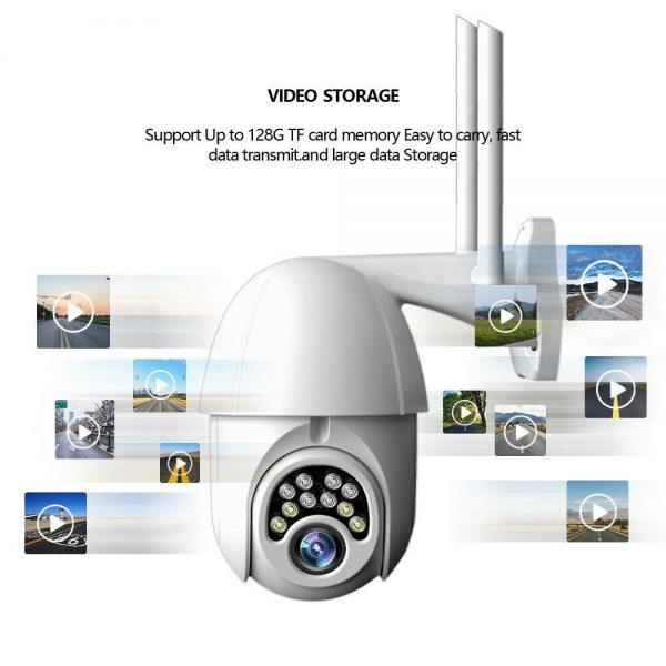 1080p Ip Cctv Camera Wireless Wifi Hd Ptz Inoutdoor Smart Home Security Ir Cam (9)